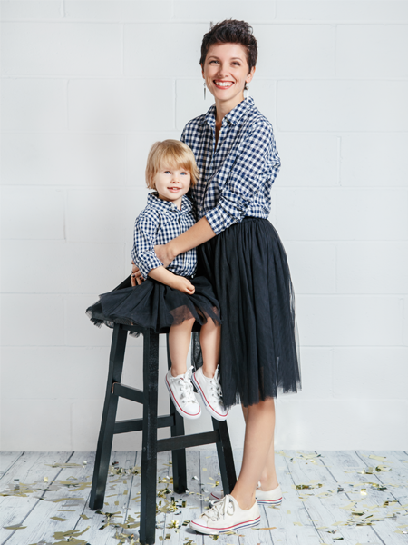 MOMMY AND DAUGHTER MATCHING TUTUS - Black
