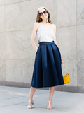 THE ISABELLE NEOPRENE SKIRT