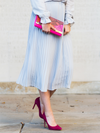 THE VIVIEN PLEATED SKIRT