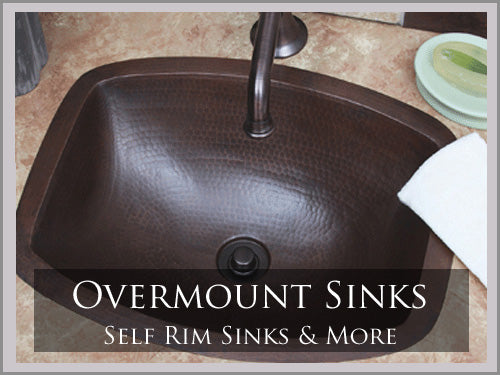 OVER MOUNT AND SELF RIM SINKS