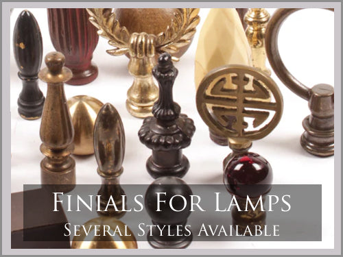 FINIALS FOR LAMPS