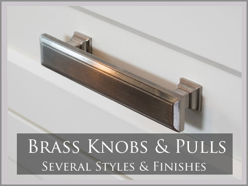 SOLID BRASS KNOBS & PULLS