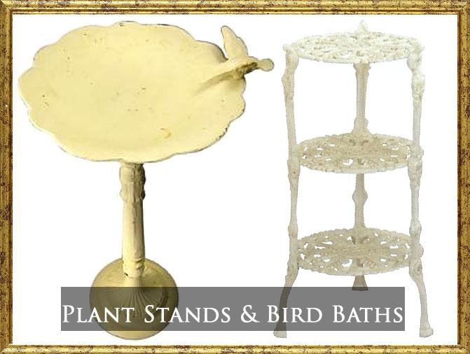 STANDS & BIRD BATHS