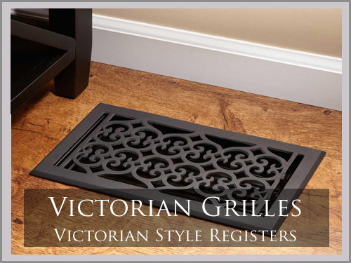 HEAVY DUTY VICTORIAN GRILLES & REGISTERS