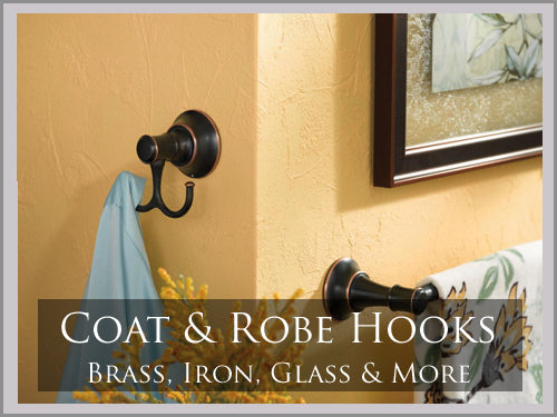 COAT AND ROBE HOOKS