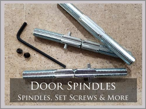 SPINDLES & SET SCREWS