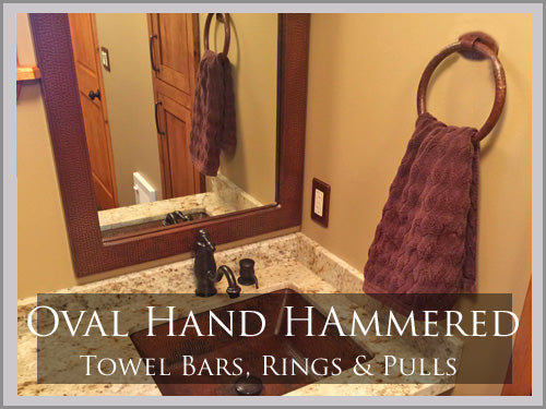 OVAL HAND HAMMERED COLLECTION