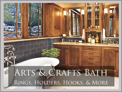 ARTS & CRAFTS Bath Hardware