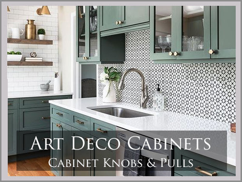 ART DECO Cabinet & Furniture Hardware