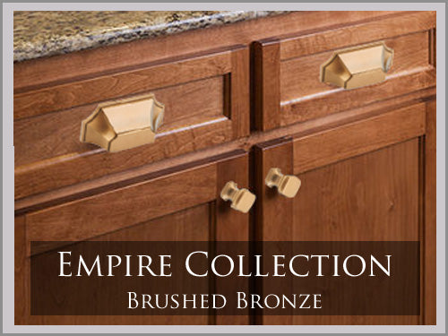 EMPIRE BRUSHED BRONZE