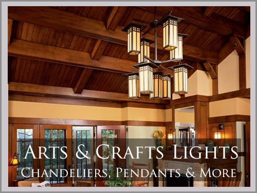 ARTS & CRAFTS Style Lighting