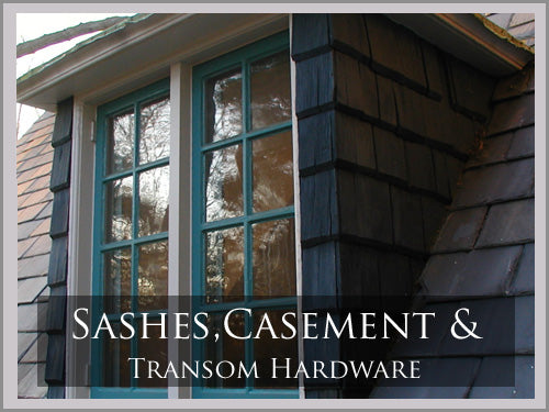 SASH, CASEMENT AND TRANSOM