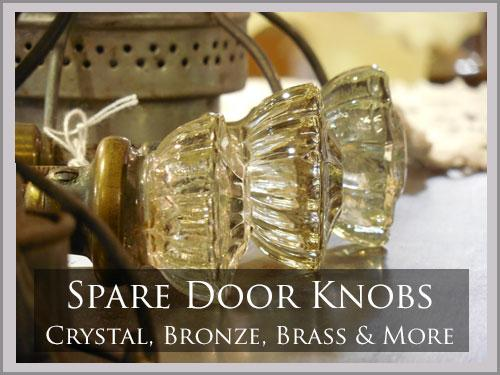 SPARE DOOR KNOBS