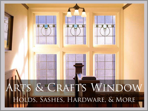 ARTS & CRAFTS Window Hardware