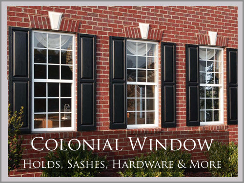 Colonial Window Hardware