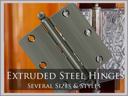 EXTRUDED STEEL HINGES