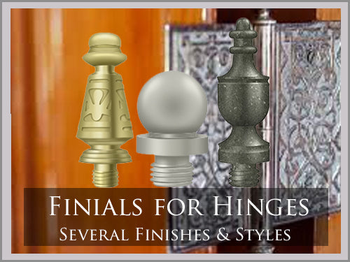 FINIALS & SCREWS