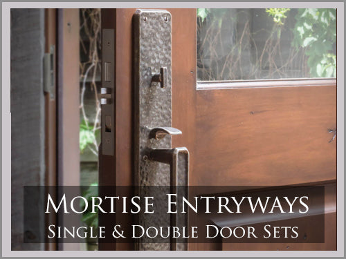 Mortise Entryway Sets