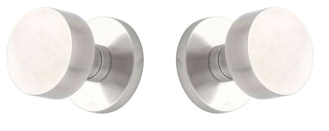 Cast Stainless Steel Round Door Knob with Round Plate EMTEK