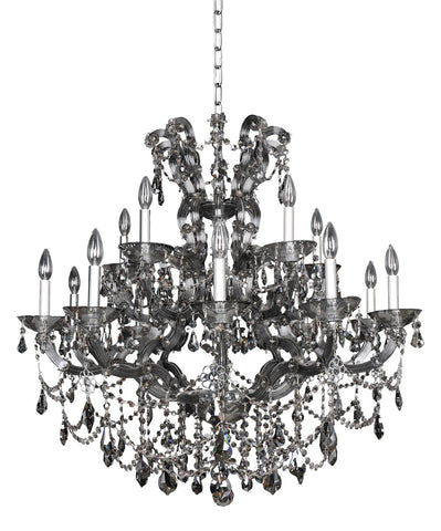 Brahms (10+5) Light 2 Tier Chandelier
