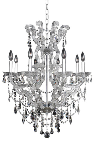 Brahms 8 Light Chandelier