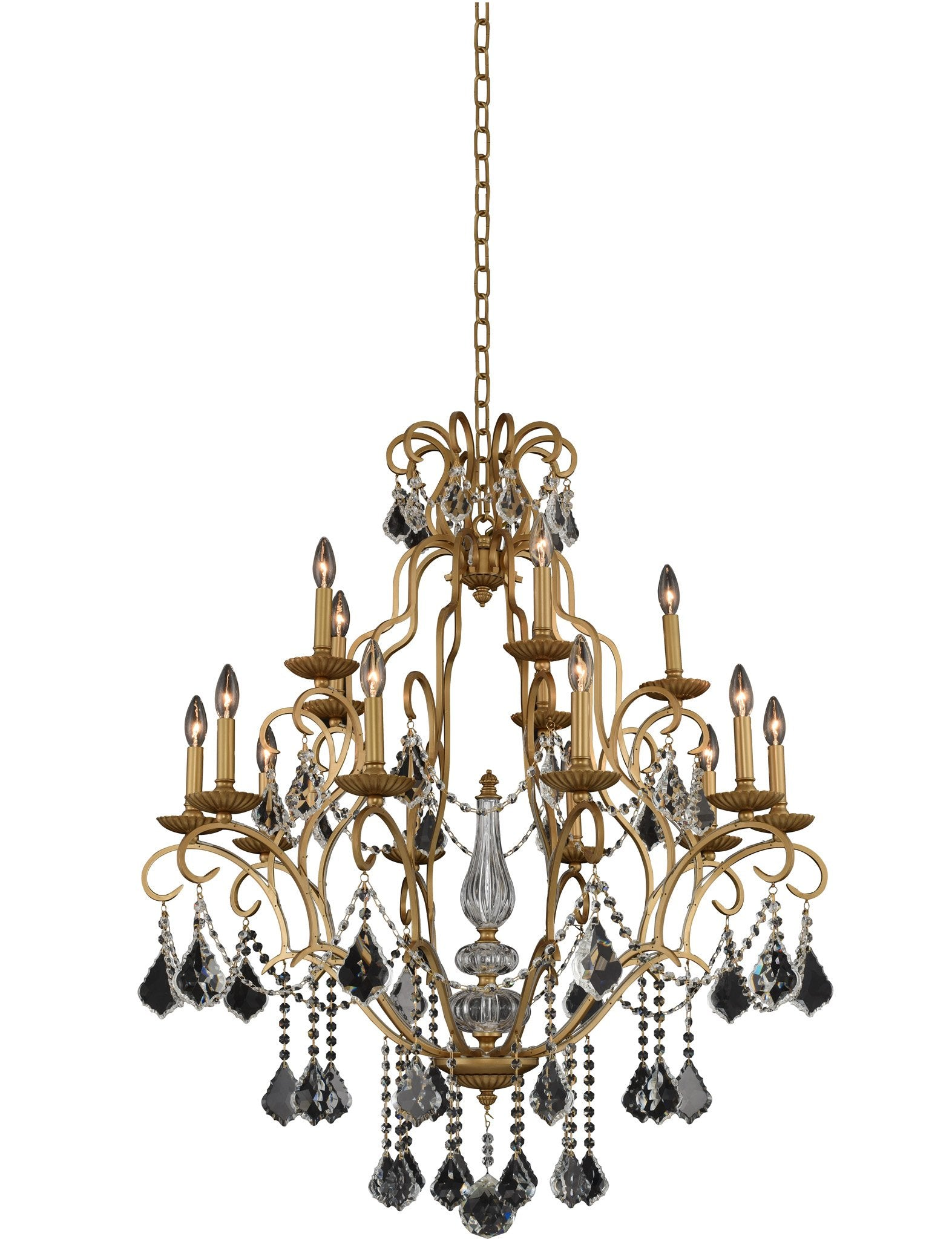 Elise (5+5+5) Light 3 Tier Chandelier