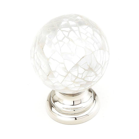 Symphony Inlays Mother of Pearl Round Cabinet & Furniture Knob