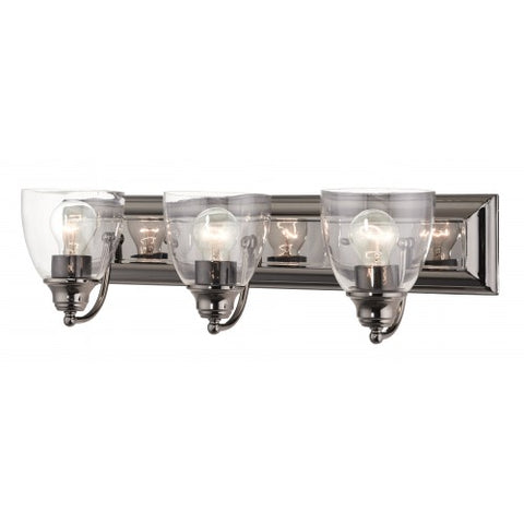 24 Inch Birmingham 3-Light Wall Sconce