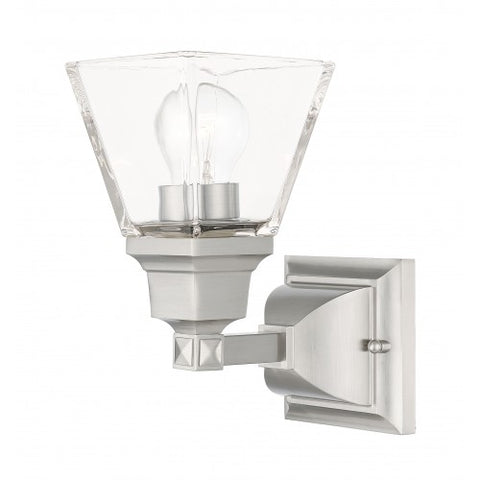 9.5 Inch Mission 1-Light Wall Sconce