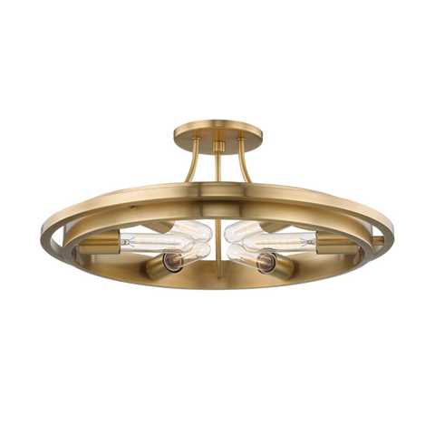 CHAMBERS 6 LIGHT FLUSH MOUNT