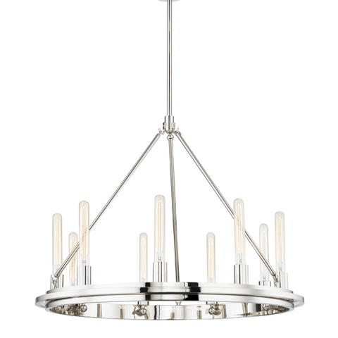 CHAMBERS 9 LIGHT PENDANT