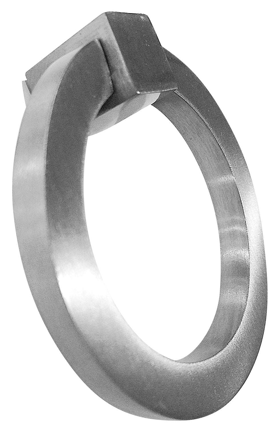 Mission Style Solid Brass Oversized Ring Pull for Cabinets & Furniture