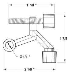 2 1/8 Inch Hinge Pin Door Stop