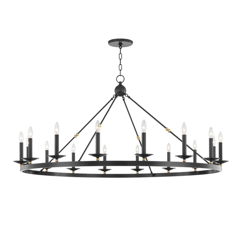 ALLENDALE 16 LIGHT CHANDELIER