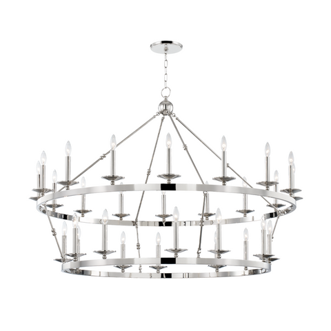 ALLENDALE 28 LIGHT CHANDELIER