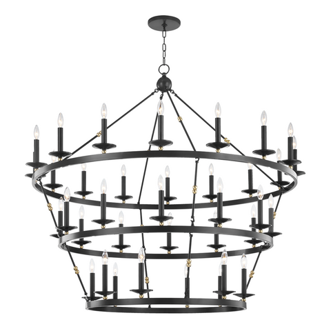 ALLENDALE 36 LIGHT CHANDELIER