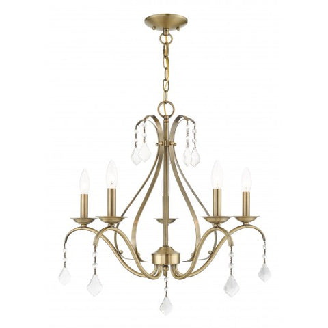 24 Inch Caterina 5-Light Chandelier