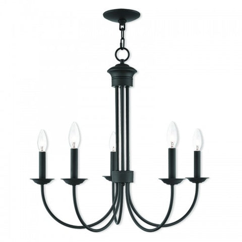 25 Inch Estate 5-Light Chandelier