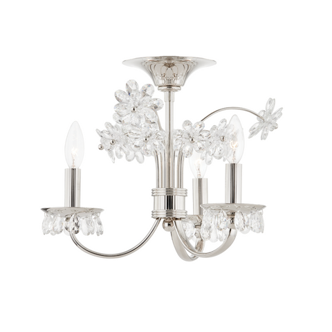 BEAUMONT 3 LIGHT FLUSH MOUNT