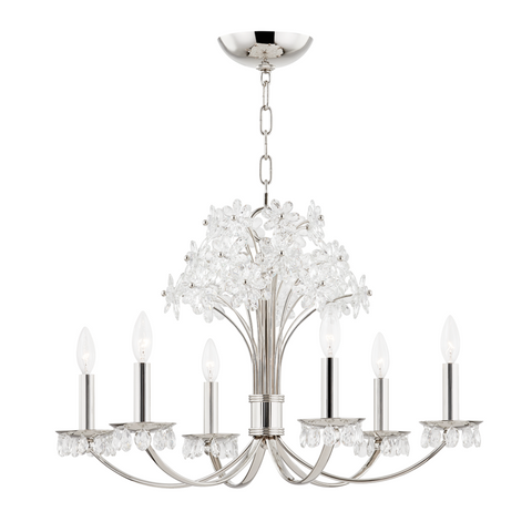 BEAUMONT 6 LIGHT CHANDELIER