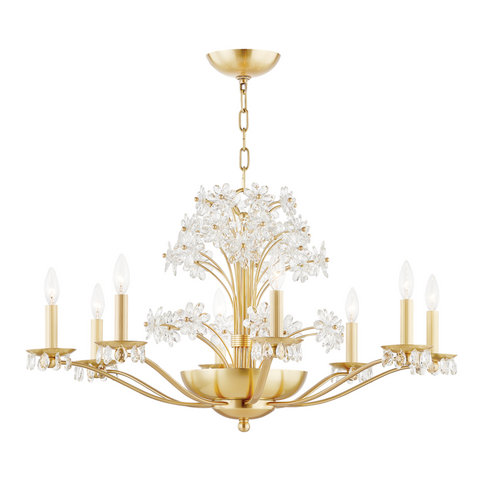 BEAUMONT 10 LIGHT CHANDELIER