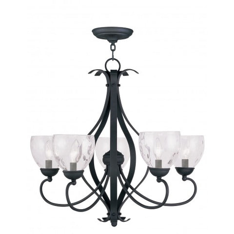 26 Inch Brookside 5-Light Chandelier
