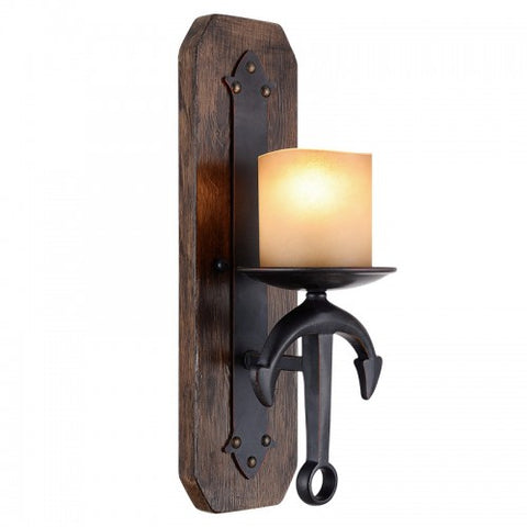 17.5 Inch Cape May 1-Light Anchor Wall Sconce