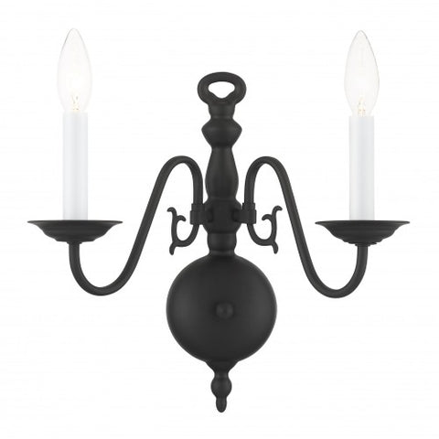 13 Inch Williamsburgh 2-Light Wall Sconce