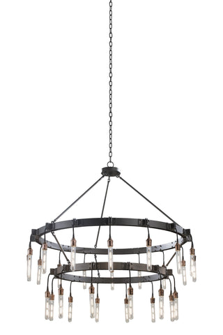 Stuyvesant 12+16 Light 2 Tier Chandelier