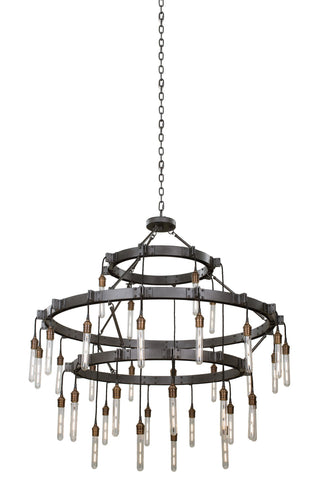Stuyvesant 12+16+8 Light 3 Tier Chandelier
