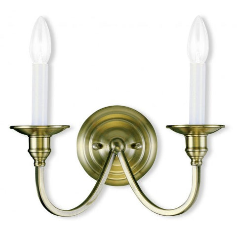 13 Inch Cranford 2-Light Wall Sconce