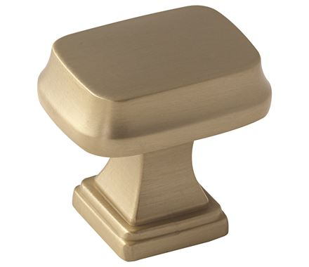 1 1/4 Inch Revitalize Rectangular Cabinet Knob