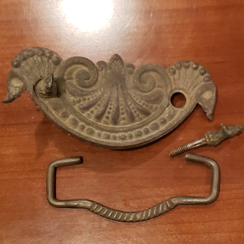 5 Inch Large Oversized Antique Drawer Pull