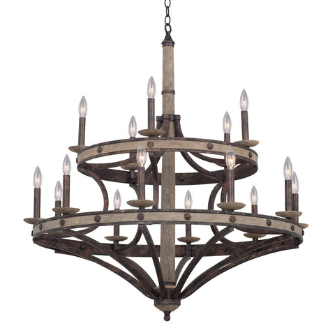 Coronado 15 Light Round Chandelier